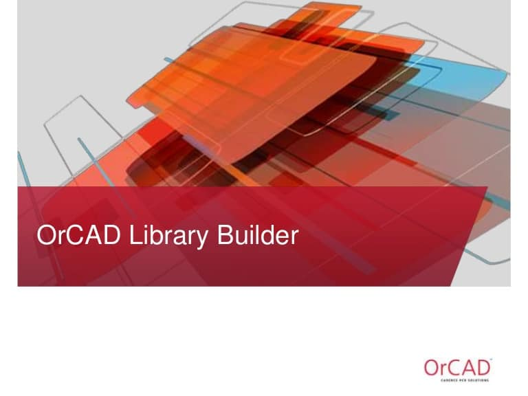 orcad-library-builder